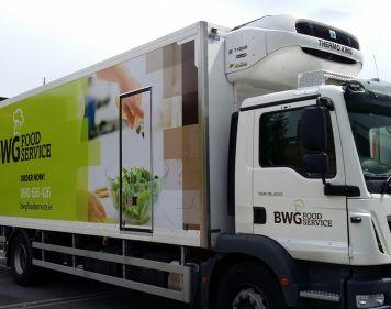 BWG Van Wrap iQ Branding Solutions
