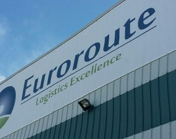 EuroRoute Building Banner