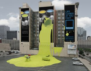 Outdoor Advertising on a grand scale