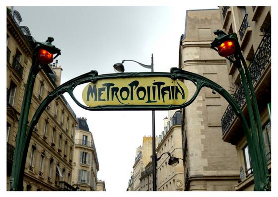 Iconic Signage - Art Nouveau on the Paris Metro | IQ Branding Solutions