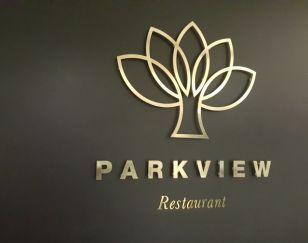 Brass Restaurant Sign