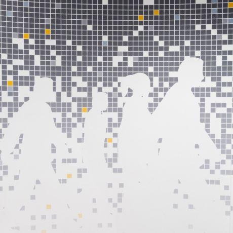 Textured Digitally Printed Wallpaper