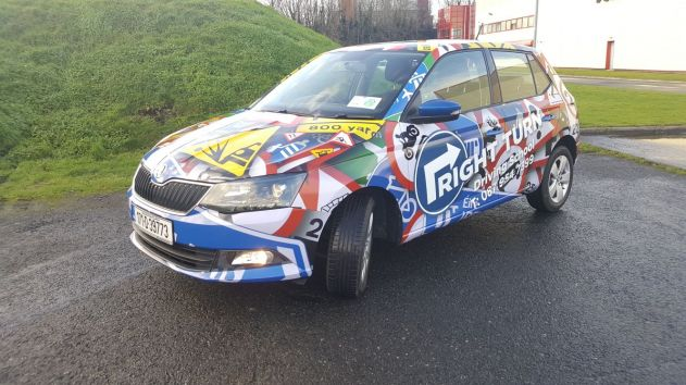 Image of Car with Full Vinyl Wrap