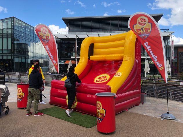 3D Inflatable Basketball Hoop